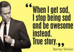barney stinson quote.