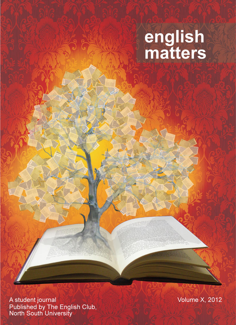 Book Cover Design Of English ~ The tree of pages english matters book cover by