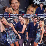 Ashley Tisdale + Zac Efron Collage by themagicalcity