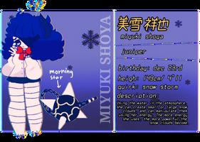 .+ Miyuki Shoya !! (Bnha oc ref) +. by SHAEVING-CREAM69