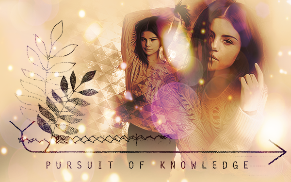 Selena Gomez - Pursuit of Knowledge by websparkle