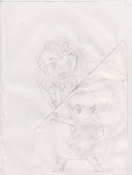 toon LINK and ZELA