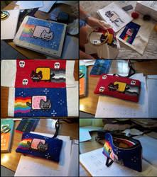 My Nyan cat pencil case by Cucu94