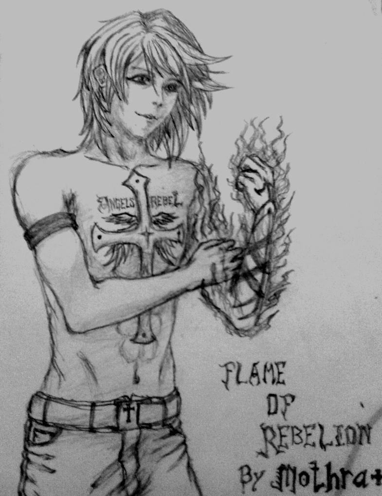 Flame of Rebelion by 4death-wish