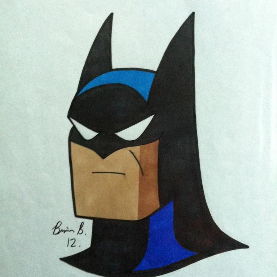 Batman (animated series version) by bti87
