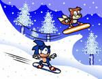 Snowboarding Buddies