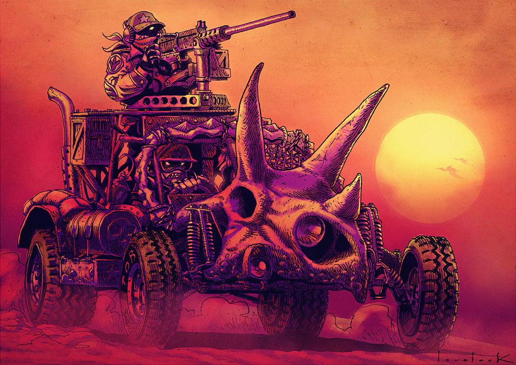 TORO Armored Dune Buggy by RyanLovelock