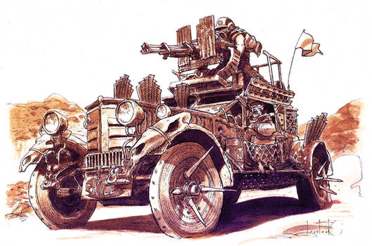 STEGO Assault Vehicle