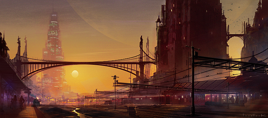 Sunset Station by RyanLovelock