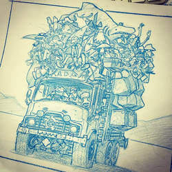 On the bus by RyanLovelock