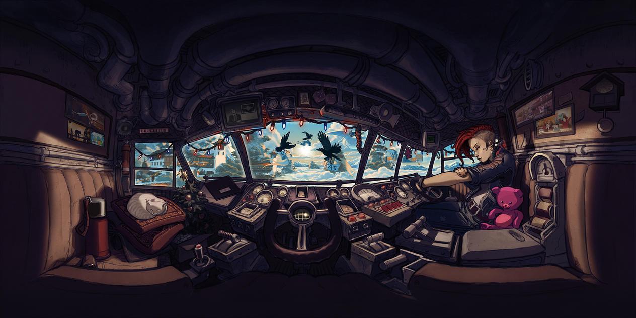 Expeditus 360 Cockpit by RyanLovelock