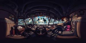Expeditus 360 Cockpit