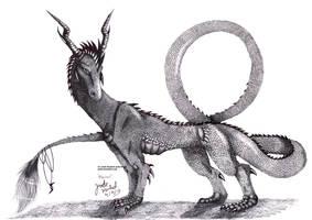 Realistic Plexus The Lightening Dragon by Jade-Viper