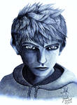 Jack Frost 2- Pencil Drawing by Jade-Viper