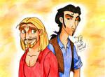 Miguel and Tulio by Jade-Viper