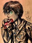 Eren Jaeger by Jade-Viper