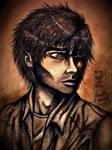 Real (Human) Daemon Portrait by Jade-Viper