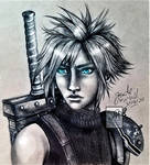 Cloud Strife by Jade-Viper