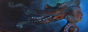 mrs Octopus by Alexey-Konev