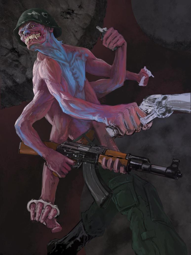 Ira (sketh) by Alexey-Konev