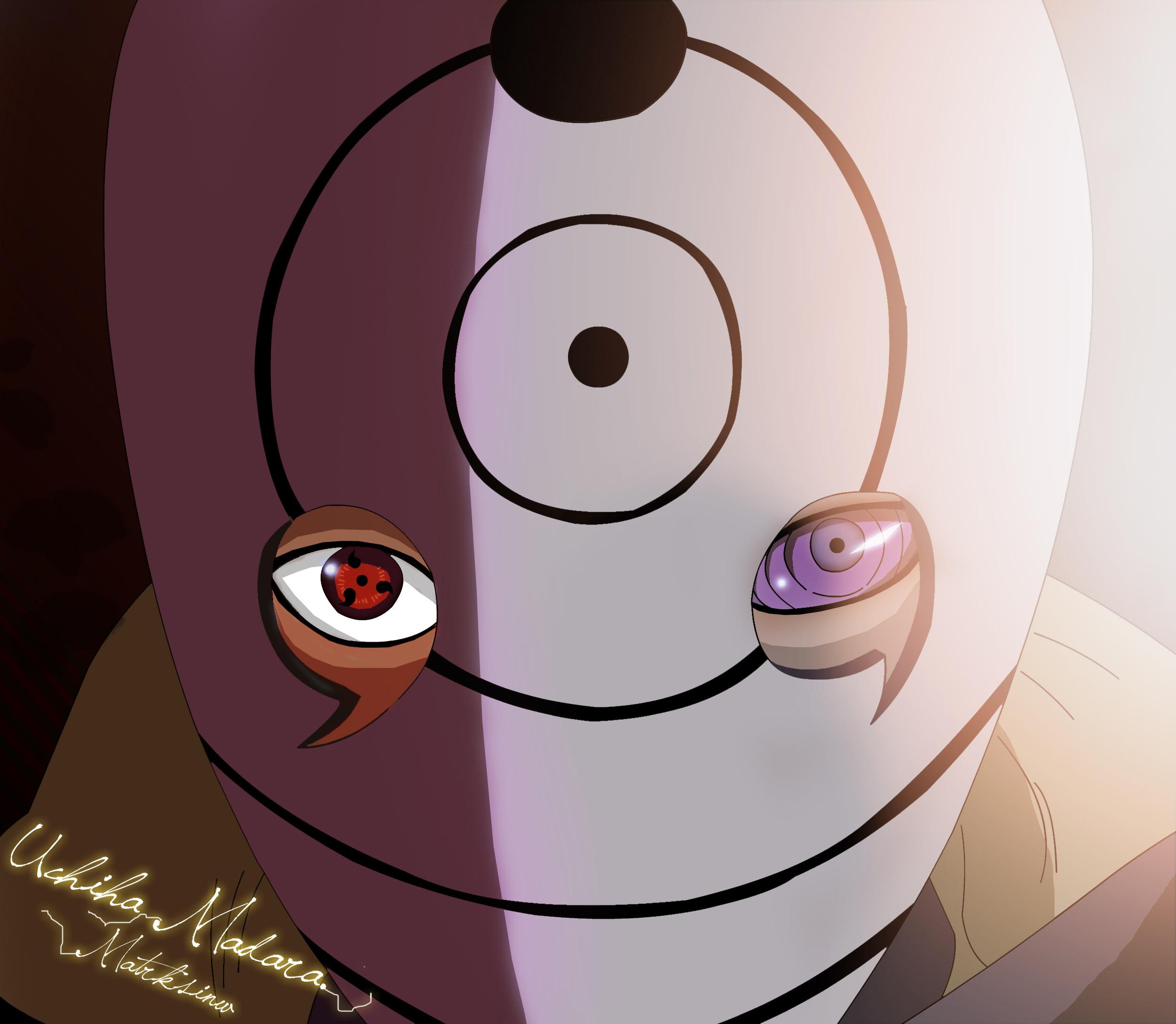 Tobi Uchiha Madara New Mask by matrksinw on DeviantArt