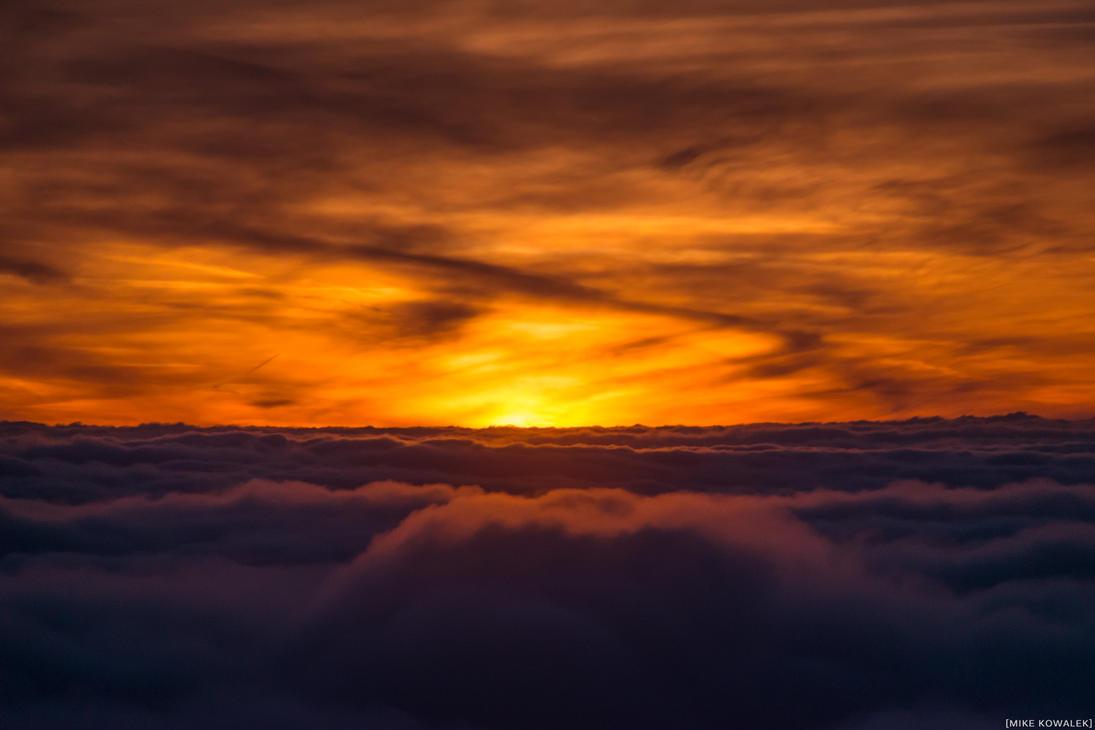 -Above Sunset- by RocknamLee