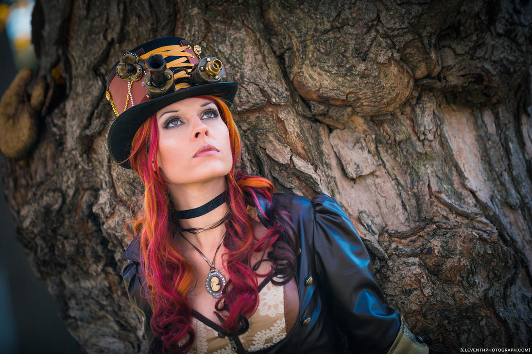 SteamPunk at the Tree by RocknamLee