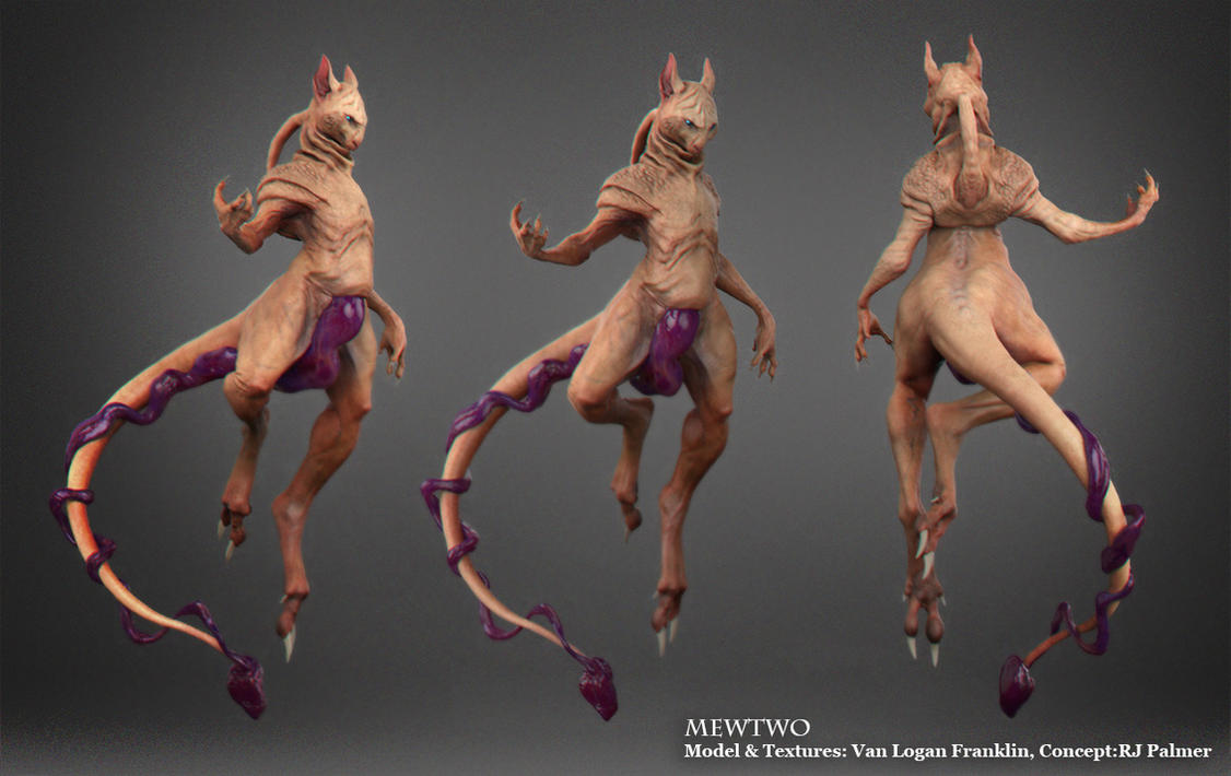 Mewtwo Character sheet by VanLogan