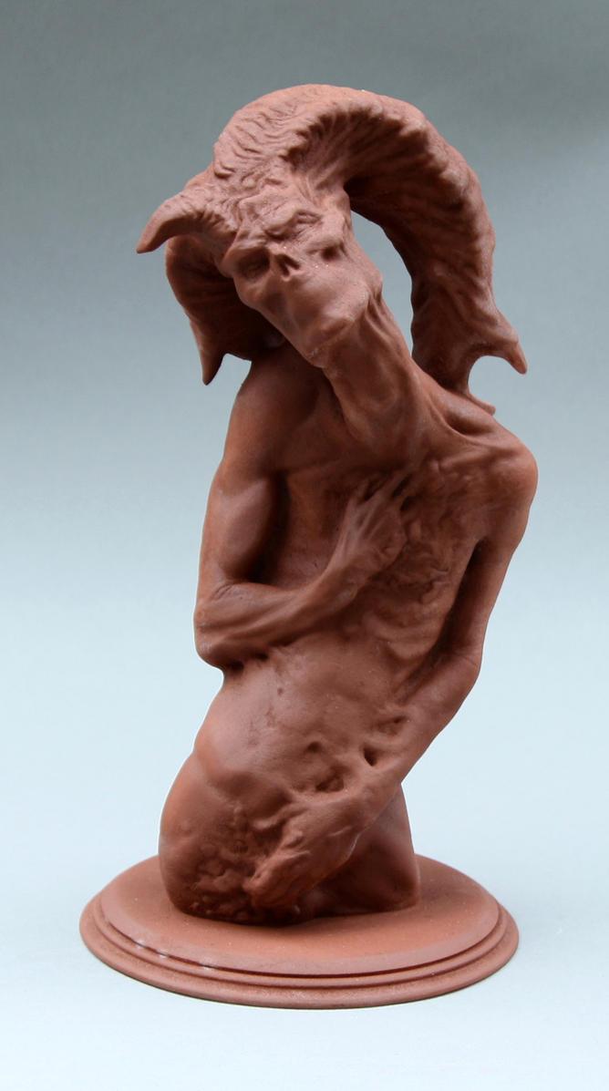 Nightmare Statue (01) by VanLogan