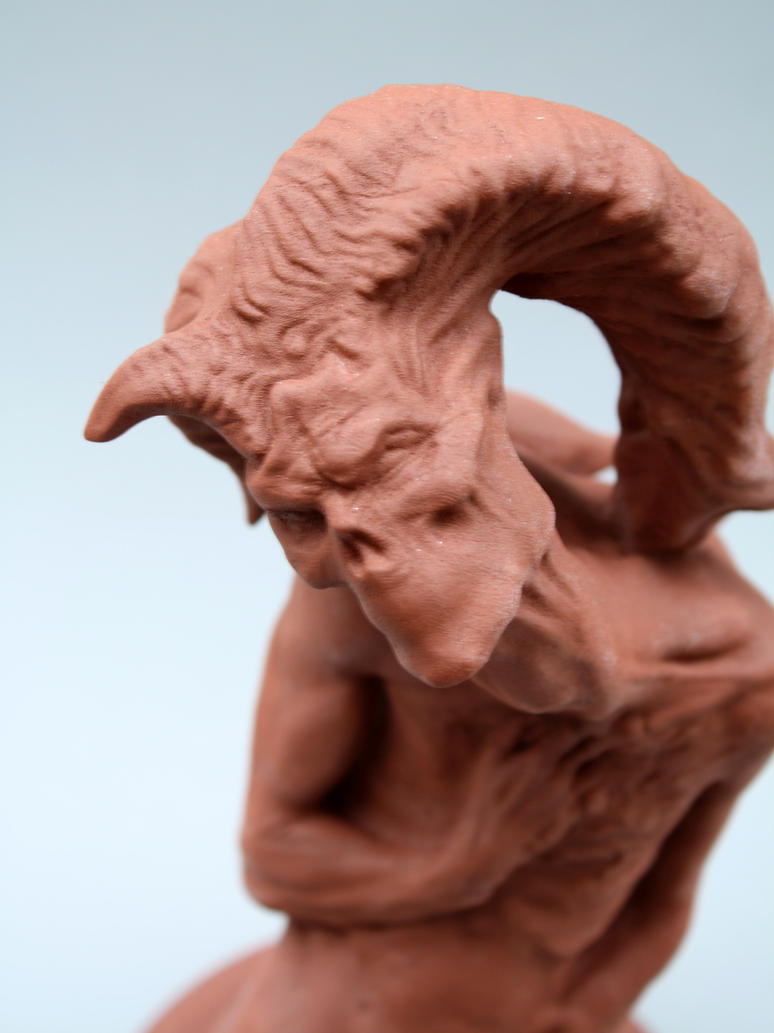 Nightmare Statue (detail) by VanLogan