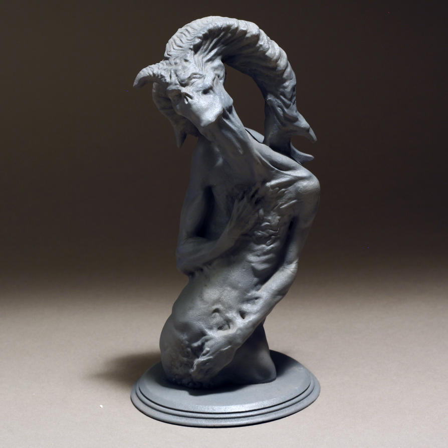 Twisted Aspect Resin Cast by VanLogan