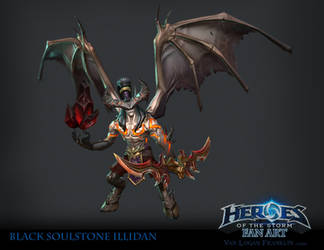 Black Soul Stone Illidan by VanLogan