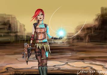 Lilith a.k.a the firehawk by Viktoriaah