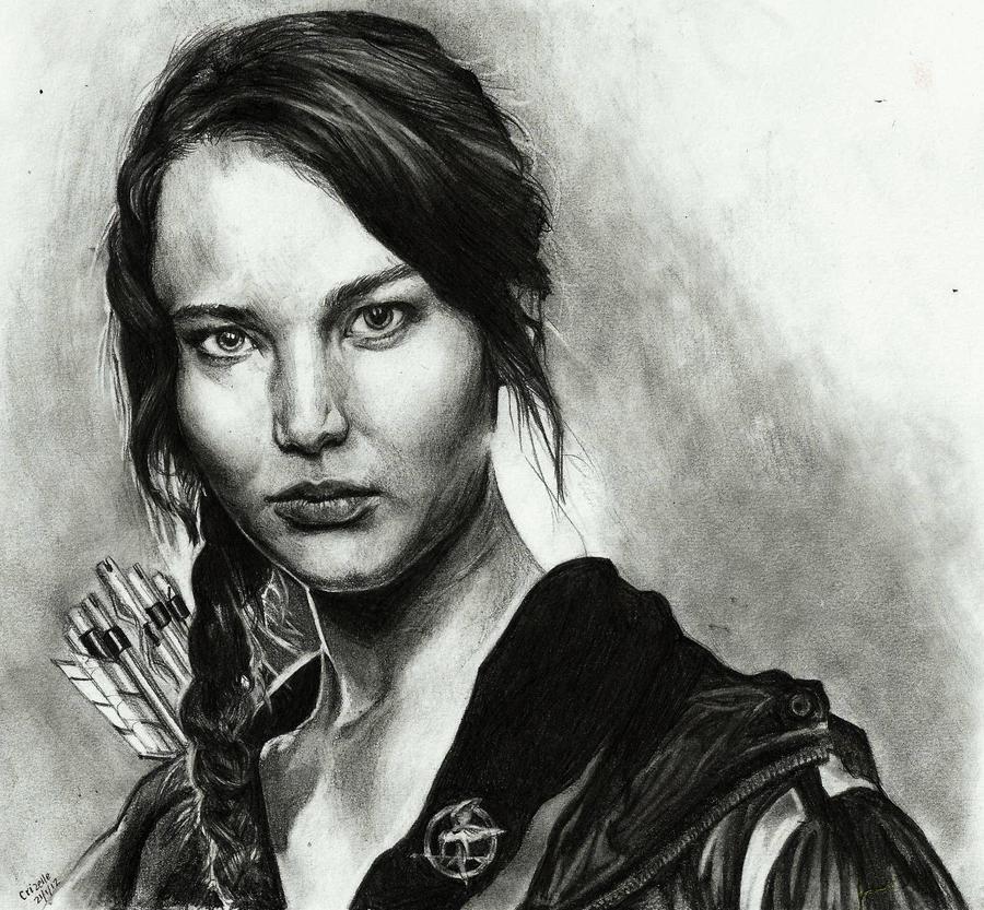 Katniss Everdeen by mynamescrizelle