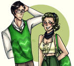 Green Argyle by SweetlyViolent