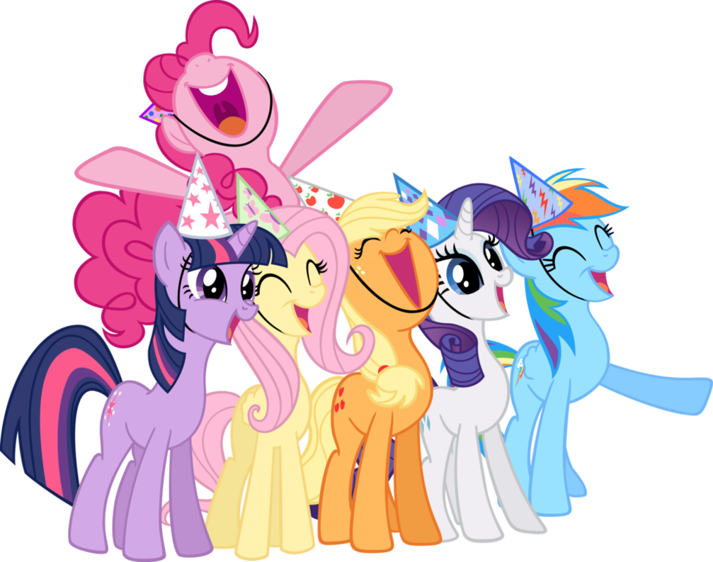MLP Suprise Mane Six Vector by UnicornRarity on DeviantArt