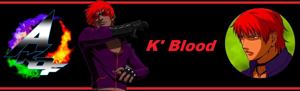 AKOF - K' Blood by OrochiDarkKyo