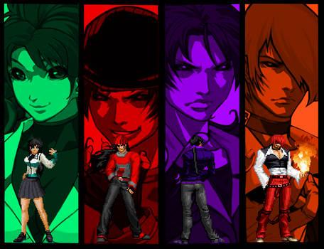 Blood Warrior Team KOF Mugen