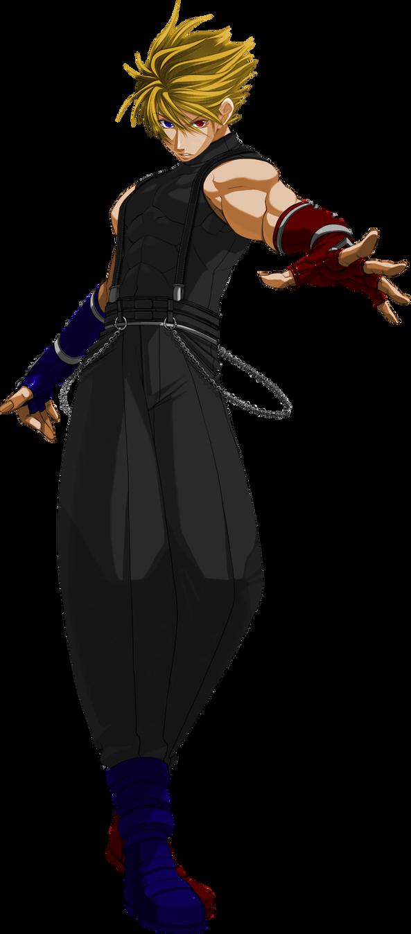Mr. R KOF Mugen by OrochiDarkKyo