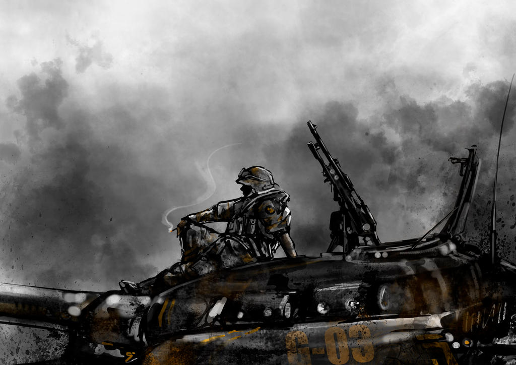 dirty war glory by VBagi