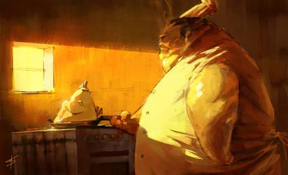 happy kitchen by VBagi