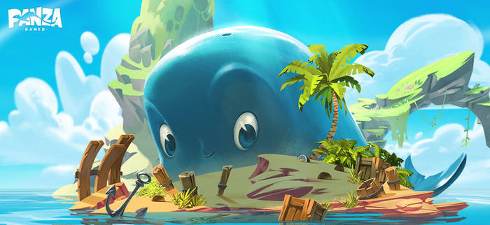 Buggy the whale