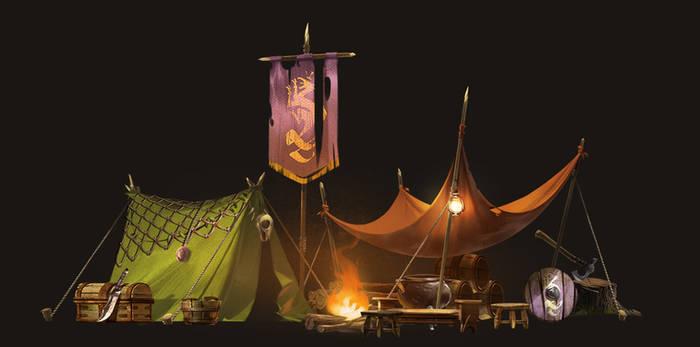 Brave little Hood - camp