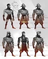 Brave little Hood - light unit variations by VBagi
