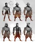 Brave little Hood - light unit variations