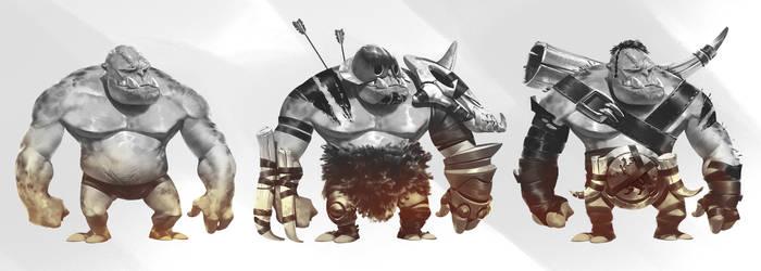 Brave little Hood - heavy unit variations