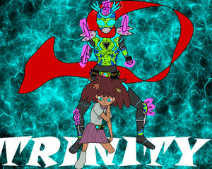 Kamen Rider Amp - Trinity Poison Dart