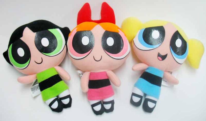 Powerpuff Girls Toys : Kfc powerpuff girls dolls by herogi on deviantart
