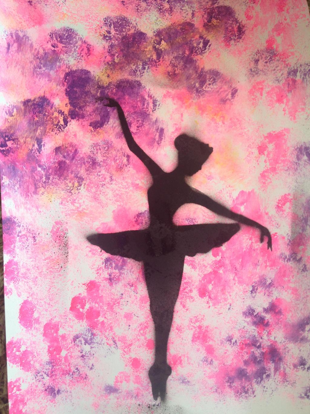 Pink Ballerina By Slaskebamse