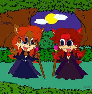 spooky Sally and freaky Fiona